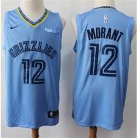 Temetrius Morant 2019-20 Memphis Grizzlies Light Blue Jersey