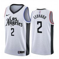 *Kawhi Leonard Los Angeles Clippers 2019-20 City Edition Jersey