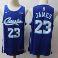 *LeBron James Throwback CRENSHAW Blue Jersey