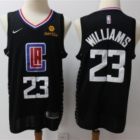Lou Williams 2019-20 Los Angeles Clippers Black Jersey