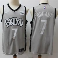 Kevin Durant 2019-20 Brooklyn Nets Grey Statement Jersey
