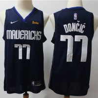 Luka Dončić 2019-20 Dallas Mavericks Navy Blue Jersey