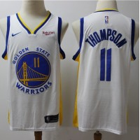 Klay Thompson Golden State Warriors White Jersey (2019-20 Updated)