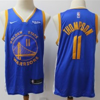 Klay Thompson Golden State Warriors Blue Jersey (2019-20 Updated)