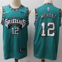 Temetrius Morant Memphis Grizzlies Throwback Teal Jersey