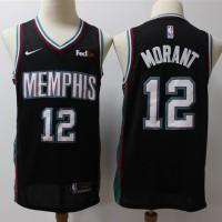Temetrius Morant 2019-20 Memphis Grizzlies Black Jersey