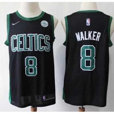 Kemba Walker 2019-20 Boston Celtics Black Jersey