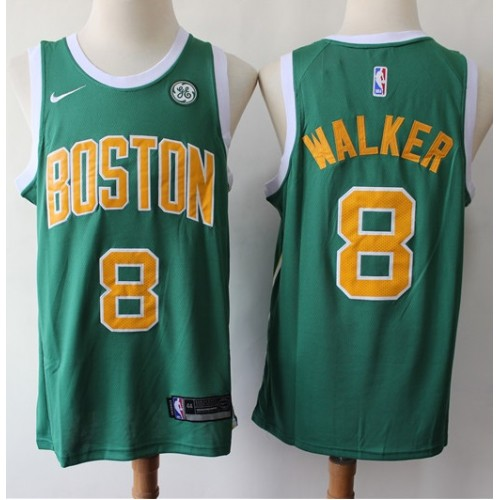 pretty nice f059e 9756e Kemba Walker Boston Celtics 2019 Earned Edition Jersey