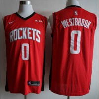 Russell Westbrook 2019-20 Houston Rockets Red Jersey