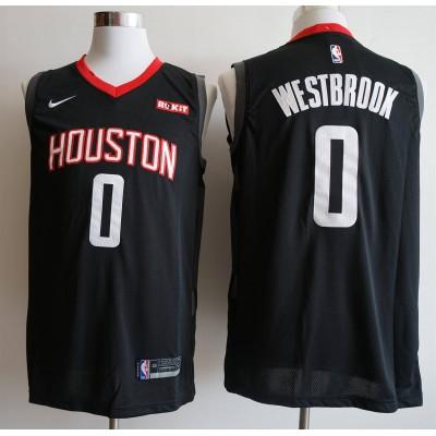 Russell Westbrook 2019-20 Houston Rockets Black Jersey