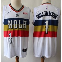 *Zion Williamson New Orleans Pelicans 2019 Earned Edition Jersey