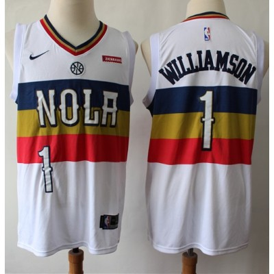 Zion Williamson New Orleans Pelicans 2019 Earned Edition Jersey