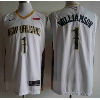 *Zion Williamson 2019-20 New Orleans Pelicans White Jersey