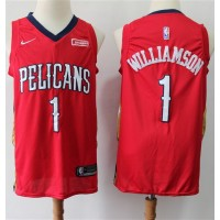 *Zion Williamson 2019-20 New Orleans Pelicans Red Jersey