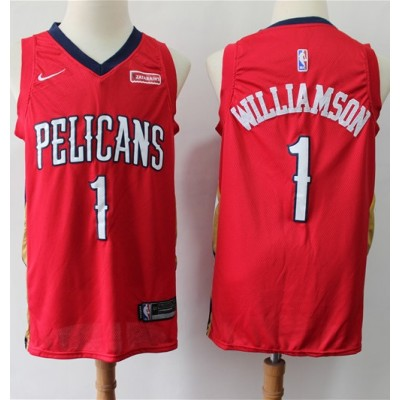 Zion Williamson 2019-20 New Orleans Pelicans Red Jersey
