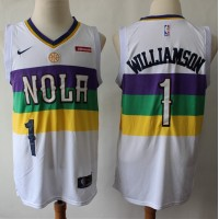 *Zion Williamson New Orleans Pelicans 2019 City Edition Jersey