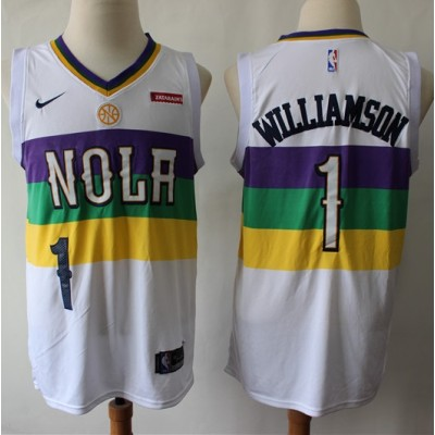 Zion Williamson New Orleans Pelicans 2019 City Edition Jersey