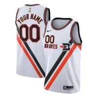"""Los Angeles Clippers 2019-20 Throwback """"Braves"""" Customizable Jersey"""