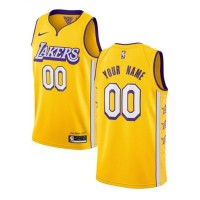 *Los Angeles Lakers 2019-20 City Edition Customizable Jersey