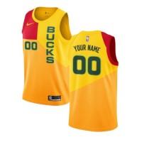 Milwaukee Bucks 2018-19 City Edition Customizable Jersey