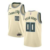 Milwaukee Bucks 2019-20 City Edition Customizable Jersey