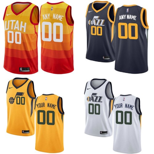 quality design 5e720 3adc3 Utah Jazz Customizable Jerseys