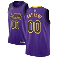 Los Angeles Lakers 2018-19 City Edition Customizable Jersey