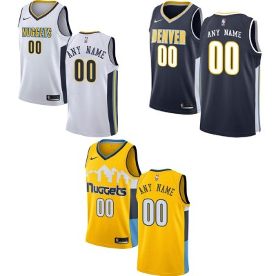 Denver Nuggets Customizable Jerseys