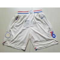 Philadelphia 76ers 2017-18 City Version Basketball Shorts