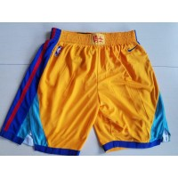 Golden State Warriors 2017-18 City Version Basketball Shorts