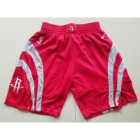 Houston Rockets Red Basketball Shorts
