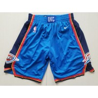 Oklahoma City Thunder Blue Basketball Shorts