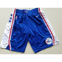 Philadelphia 76ers Blue Basketball Shorts