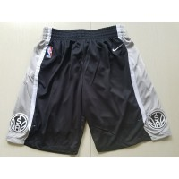San Antonio Spurs Black Basketball Shorts