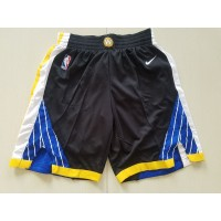 Golden State Warriors Black Basketball Shorts
