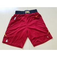 Cleveland Cavaliers Red Basketball Shorts