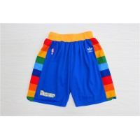 Denver Nuggets Classic Blue Basketball Shorts