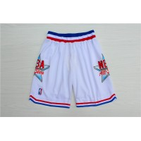 1992 All-Star Game White Basketball Shorts
