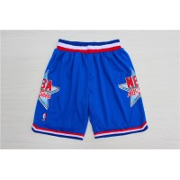 1992 All-Star Game Blue Basketball Shorts