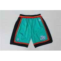 Detroit Pistons Classic Teal Basketball Shorts
