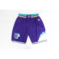 Utah Jazz Classic Purple Basketball Shorts