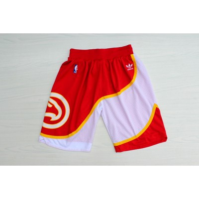 Atlanta Hawks Classic Red Basketball Shorts
