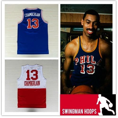 sports shoes 54dbc d08bf Wilt Chamberlain Hardwood Philadelphia 76ers Hardwood ...