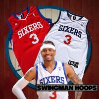 Allen Iverson Philadelphia 76ers 2009 Mesh Jerseys