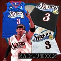 Allen Iverson Philadelphia 76ers 1997-2009 Classic Mesh Jerseys