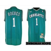 Mugsy Bogues Charlotte Hornets Hardwood Classics Jersey