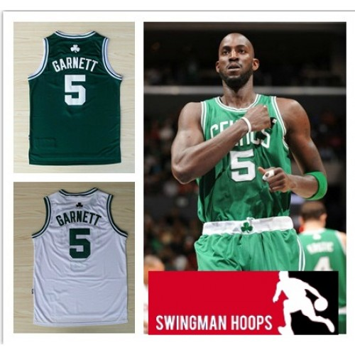 the latest 40156 f29b7 Kevin Garnett Boston Celtics REV30 Swingman Jerseys