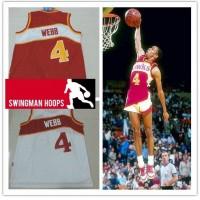 Spud Webb Atlanta Hawks Hardwood Classics Jerseys