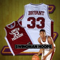Kobe Bryant Lower Merrion High School Jerseys