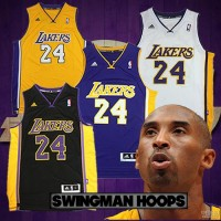 Kobe Bryant Los Angeles Lakers REV30 Swingman Jerseys